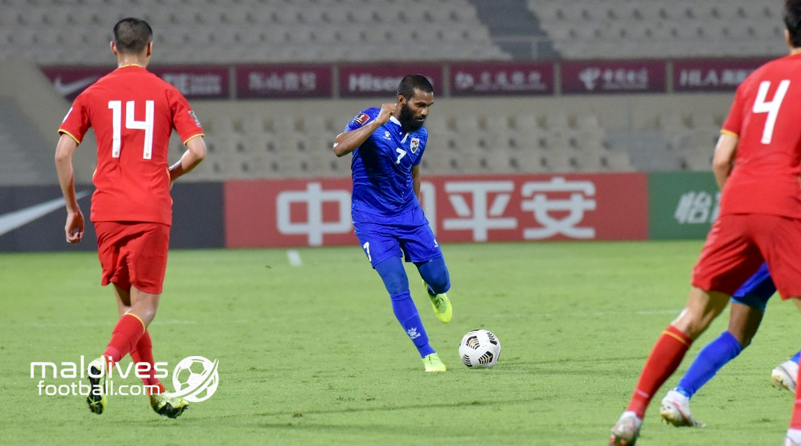 WC and AC Qualifier: China 5-0 Maldives